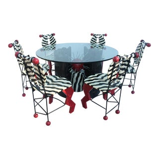 Thor Memphis Style Pop Art Dining Set
