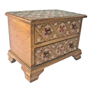 Vintage Florentine Jewelry Box Italy