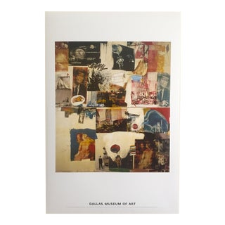 "1964 Robert Rauschenberg Original Offset Lithograph Print Poster ""Skyway"""