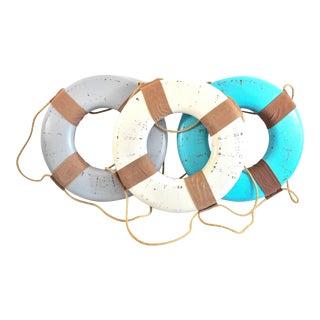 Vintage Nautical Life Rings - Set of 3