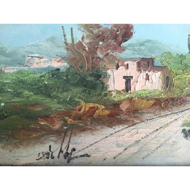 Adobe Home and Landscape Painting - Image 3 of 3