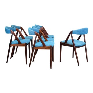 Kai Kristiansen for Schou Andersen Rosewood Dining Chairs - Set of 6