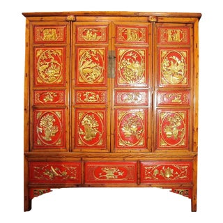 Goldleaf Painted Cabinet