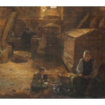 Image of Bakery Interior Oil Painting