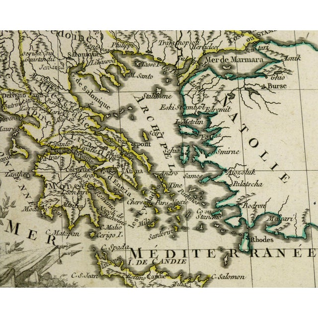 Antique Map Hungary & Balkans, 1778 - Image 2 of 3