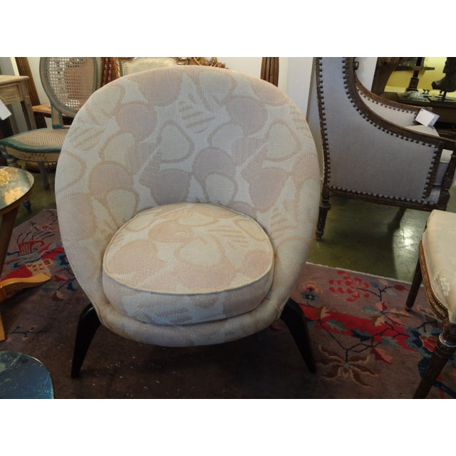 Mid-Century Jean Royère Style French Chair - Image 8 of 8