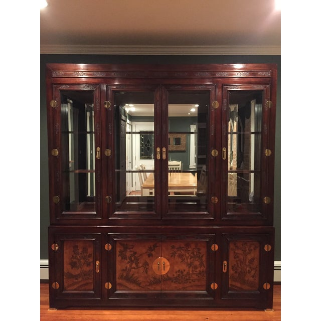 Bernhardt Credenza and China Cabinet - Image 2 of 7
