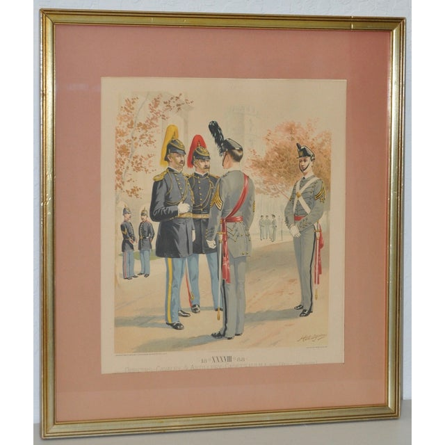 U.S. Military Academy Color Lithograph C.1888 - Image 2 of 10