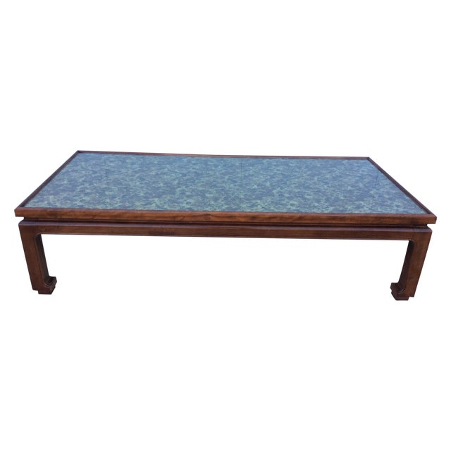 1960's James Mont Style Large Coffee Table - Image 1 of 11