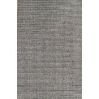 Hand-Loomed Modern Grey Rug - 5′7″ × 8′6″