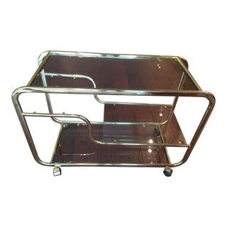 Vintage Milo Baughman Bar Cart