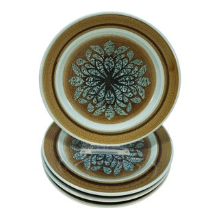 Mid-Century Franciscan Earthenware Plates, 4 Piece