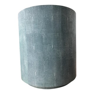 Cara Shagreen Side Table