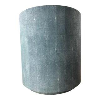 Cara Shagreen Side Table