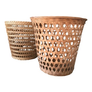 Patterned Baskets - A Pair
