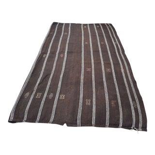 "Vintage Turkish Stripe Rug - 5'1"" X 8'6"""