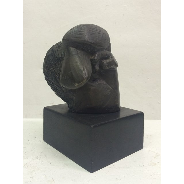 "Sunol Alvar Sculpture ""Mujer Con Paloma II"" - Image 4 of 6"