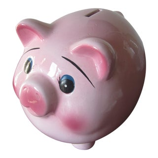 Mid-Century Modern Piggy Bank