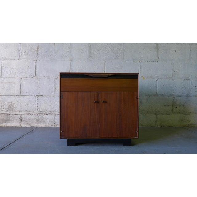 John Stuart Mid-Century Modern Nightstand Cabinet - Image 2 of 6