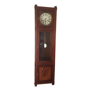 Sessions Co Antique Mission Grandfather Clock