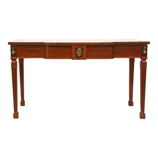 English Regency Serving Table in the Egyptian Taste
