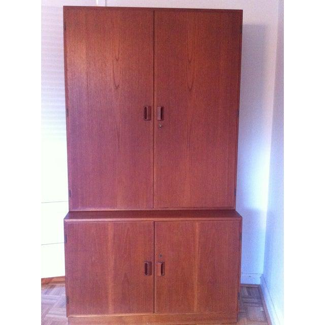 Vintage 1950s Borge Mogensen Danish Modern Cabinet - Image 2 of 11