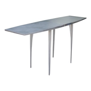 Aluminum Robert Josten Console Table