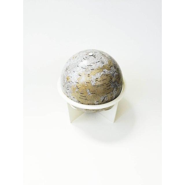 Mid-Century Tin Moon Globe - Image 3 of 5