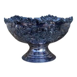 Silverplate Centerpiece Fruit Bowl
