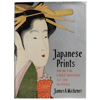 """1963 """"Japanese Prints: Early Masters to Modern"""" Book"""