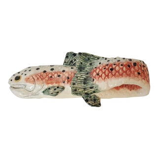 Spotted Trout Towel Holder