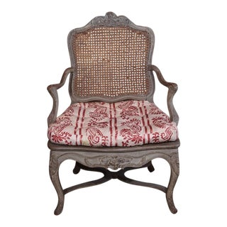 18th Century Painted Regence Chair