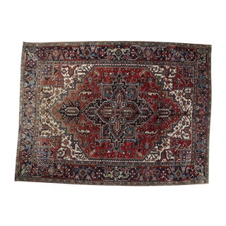Antique Heriz Rug - 7 X 9'1""