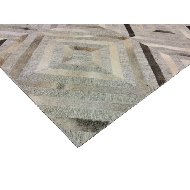 Pasargad Custom Made Cowhide Rug- 4' X 6' - Image 4 of 4