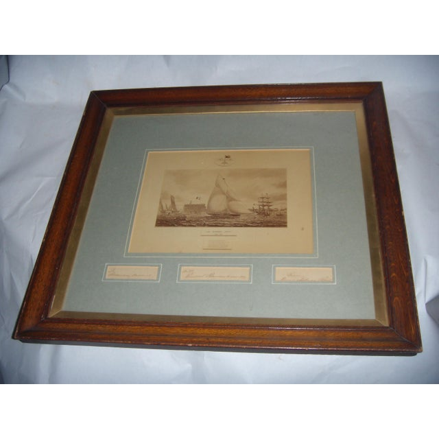 Framed Photo of The Terrible Fiona Yacht, 1899 - Image 3 of 11