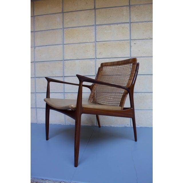 Kofod Larsen Cane Back Lounge Chair - Image 6 of 11
