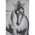 Image of Pete V Large Horse Painting Equine Abstract