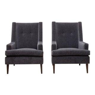 "Pair of Edward Wormley ""Tall Man"" Chairs for Dunbar"