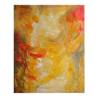"""Torso"" Large Abstract Oil Painting by Trixie Pitts"
