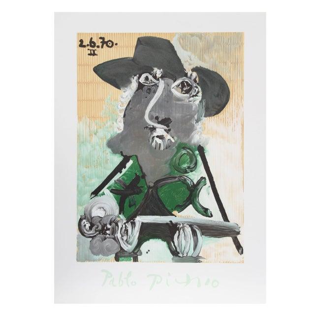 Pablo Picasso - Portrait d'Homme Au Chapeau Estate - Image 1 of 2