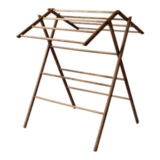 Antique Wooden Drying Rack