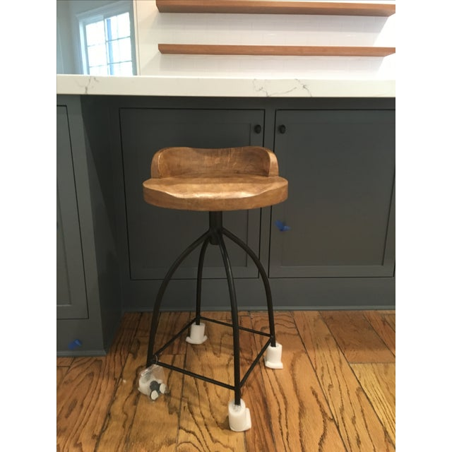 Arteriors Home Henson Counter Stools - Set of 4 - Image 4 of 7