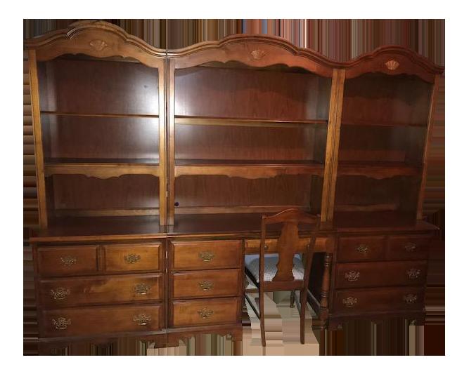 Stanley Furniture Bookcases U0026 Desk   Set ...