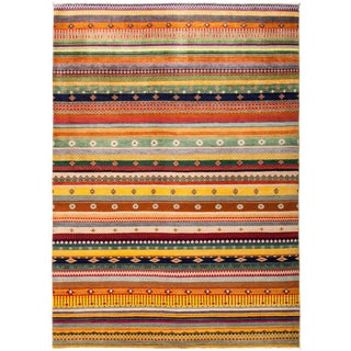 """Lori Hand Knotted Area Rug - 6'4"""" X 8'9"""""""