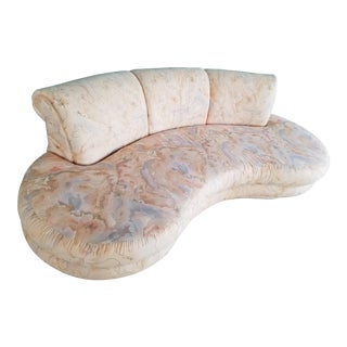 Adrian Pearsall for Comfort Designs Curved Kidney Shaped Sofa