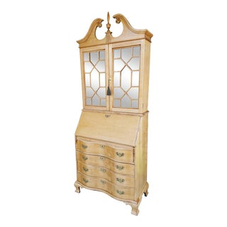 Jasper Antique Secretary Cabinet