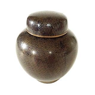 Cloisonne Ginger Jar