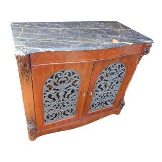 Henredon Marble Top Entry Table / Credenza