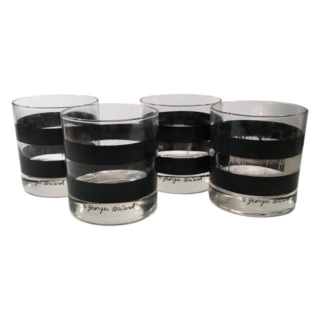 Georges Briard Signed Rocks Glasses - Set of 4 - Image 1 of 8