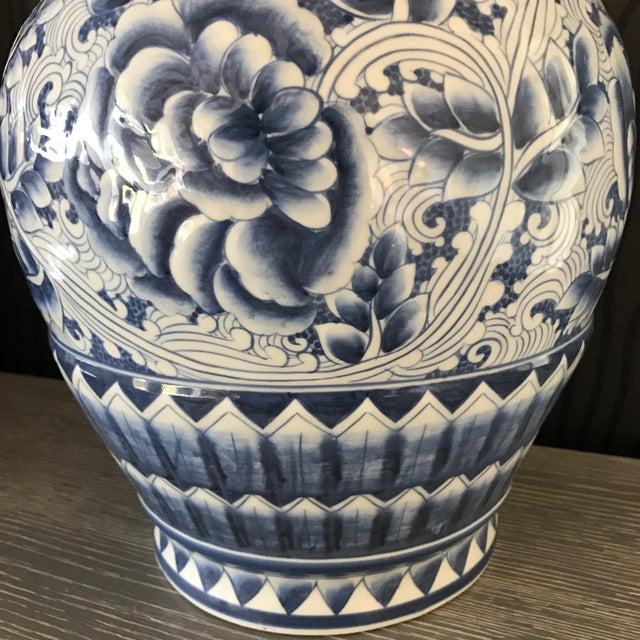 Chinese Blue & White Porcelain Vase - Image 5 of 6